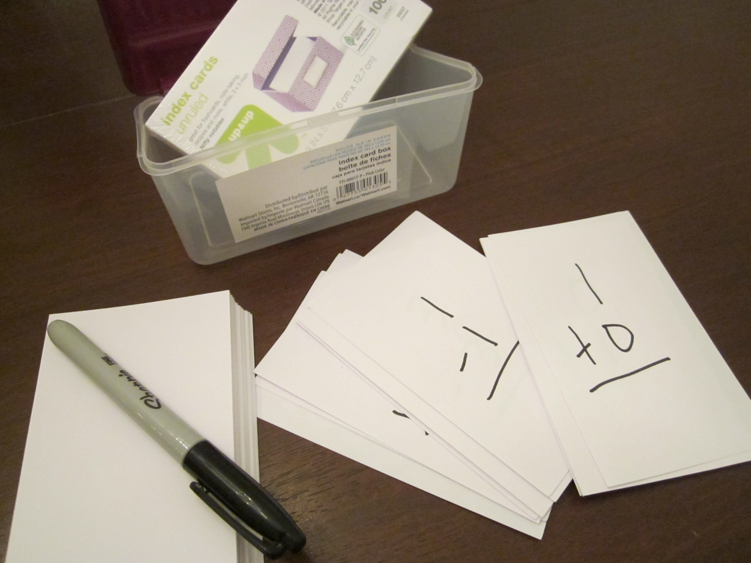Flashcards | Theroommom
