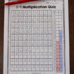Free Timed Multiplication Tests And Multiplication Graph
