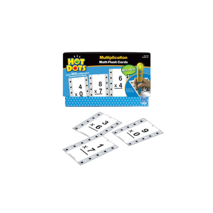Multiplication Flash Cards 0-9