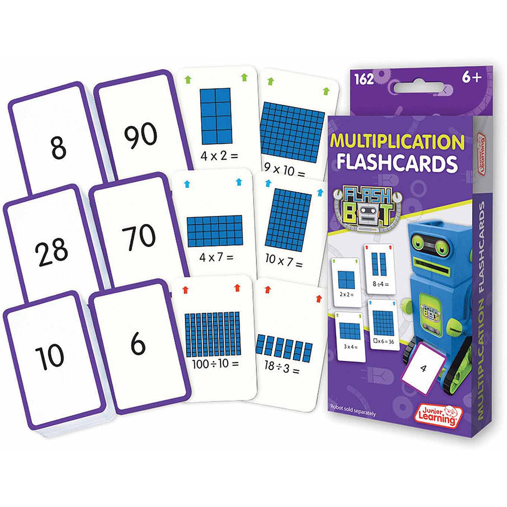 Junior Learning Multiplication Flashcards - Walmart