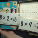 New Math Multiplication Flash Cards Vintage 1966 Ed U Cards Educards  Ed U Cards Educational Flash Card Game Soldlittlekittencreations