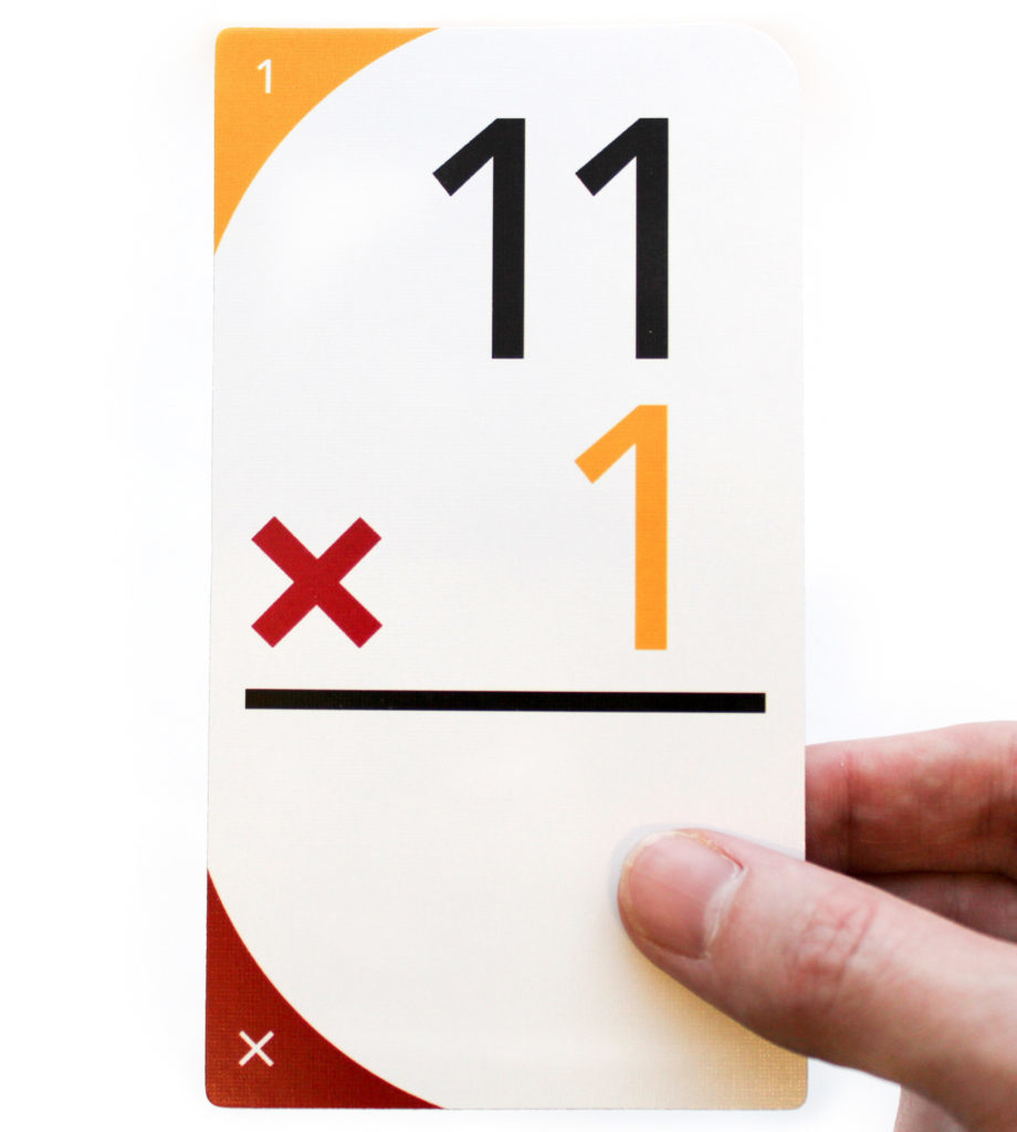 Upsparks Multiplication Flash Cards - Upsparks
