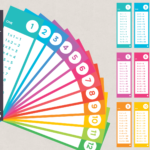 1 12 Times Table Fan Deck Printable Multiplication | Times