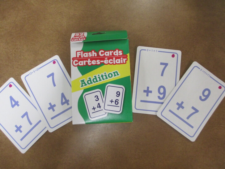 Multiplication Flash Cards Dollar Tree