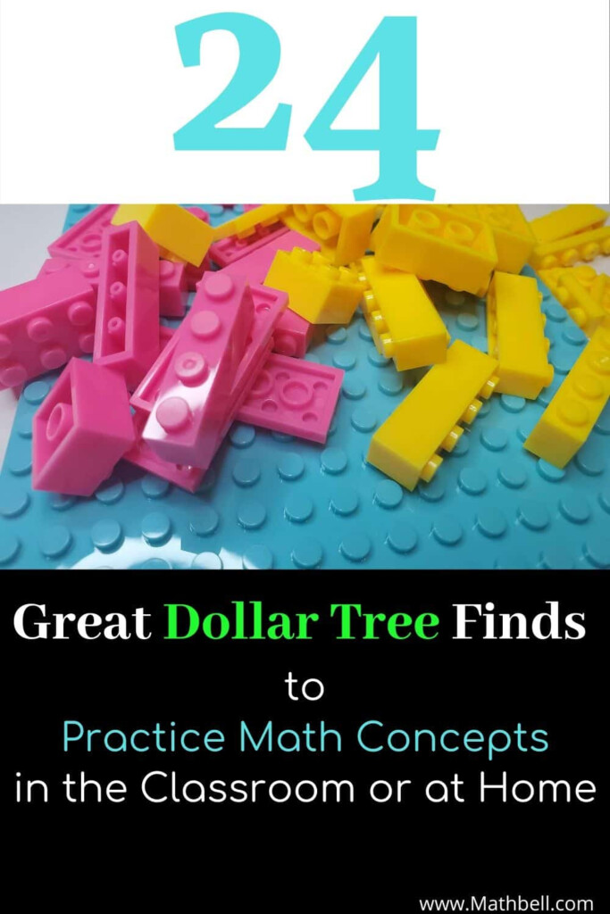 24 Great Dollar Tree Finds To Practice Math Concepts In The