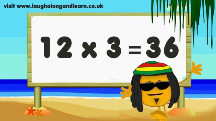 Multiplication Chart Song
