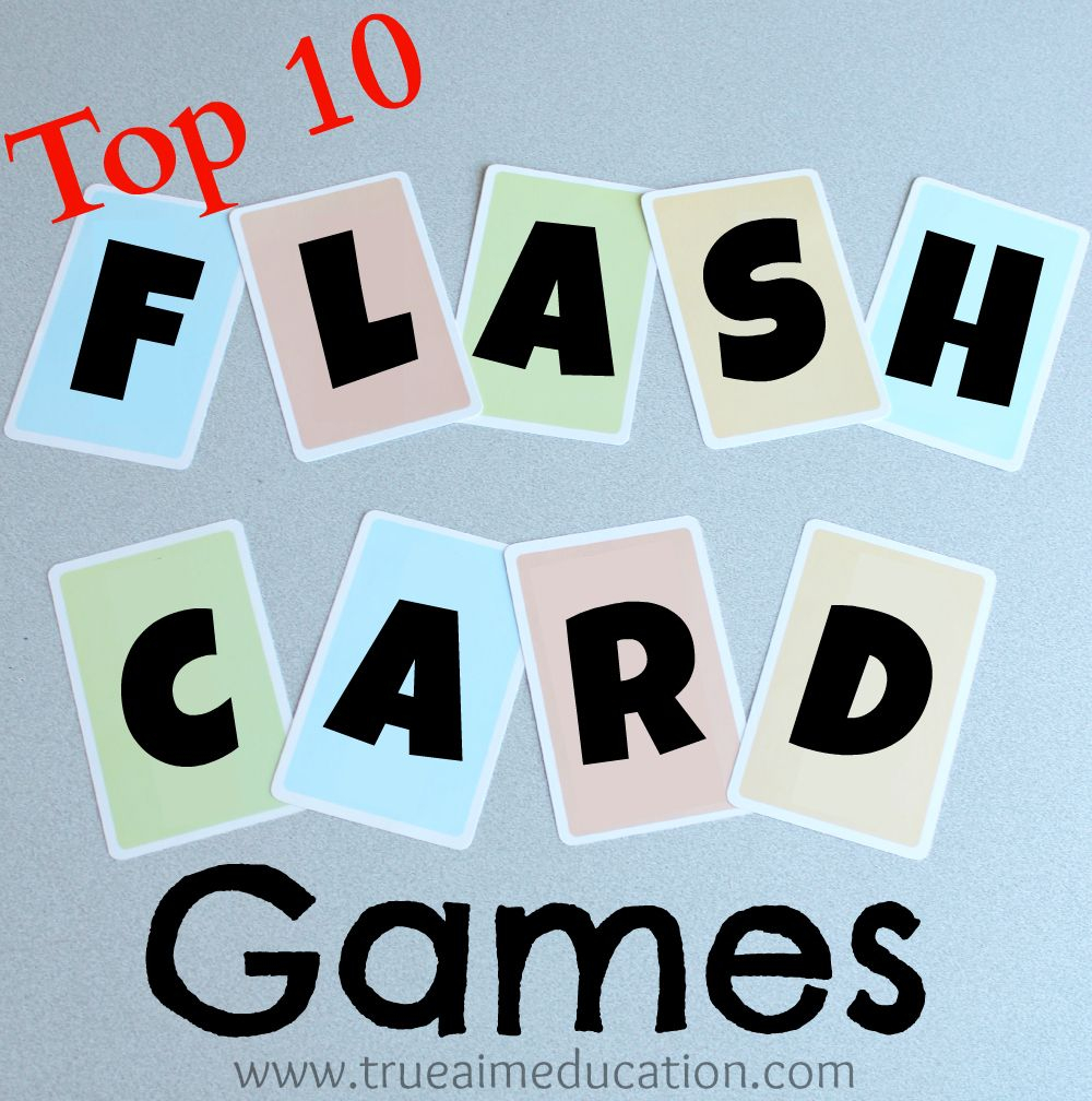 30+ Flash Card Games Ideas In 2020 | Flash Card Games