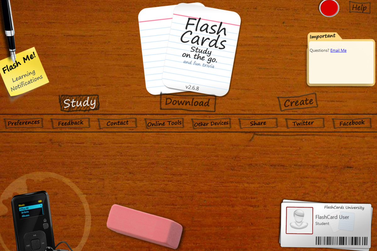 300 Index Cards: Index Cards App Ios