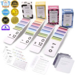 681 Math Addition, Subtraction, Multiplication And Division Flash Cards |  Bundle Kit With Full Box Sets | All Facts Color Coded | Best For Kids In