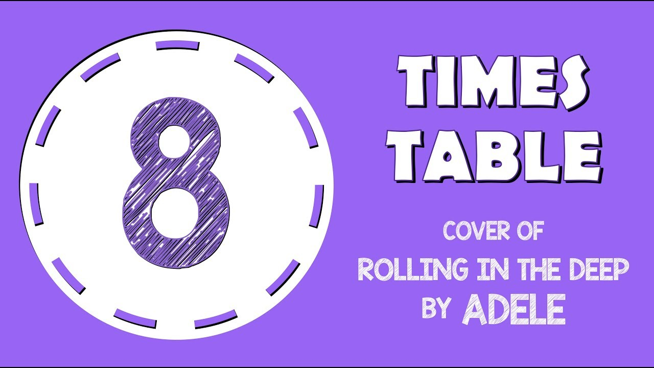 8 Times Table Song (Cover Of Rolling In The Deepadele)