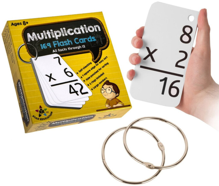 Multiplication Flash Cards Free Online
