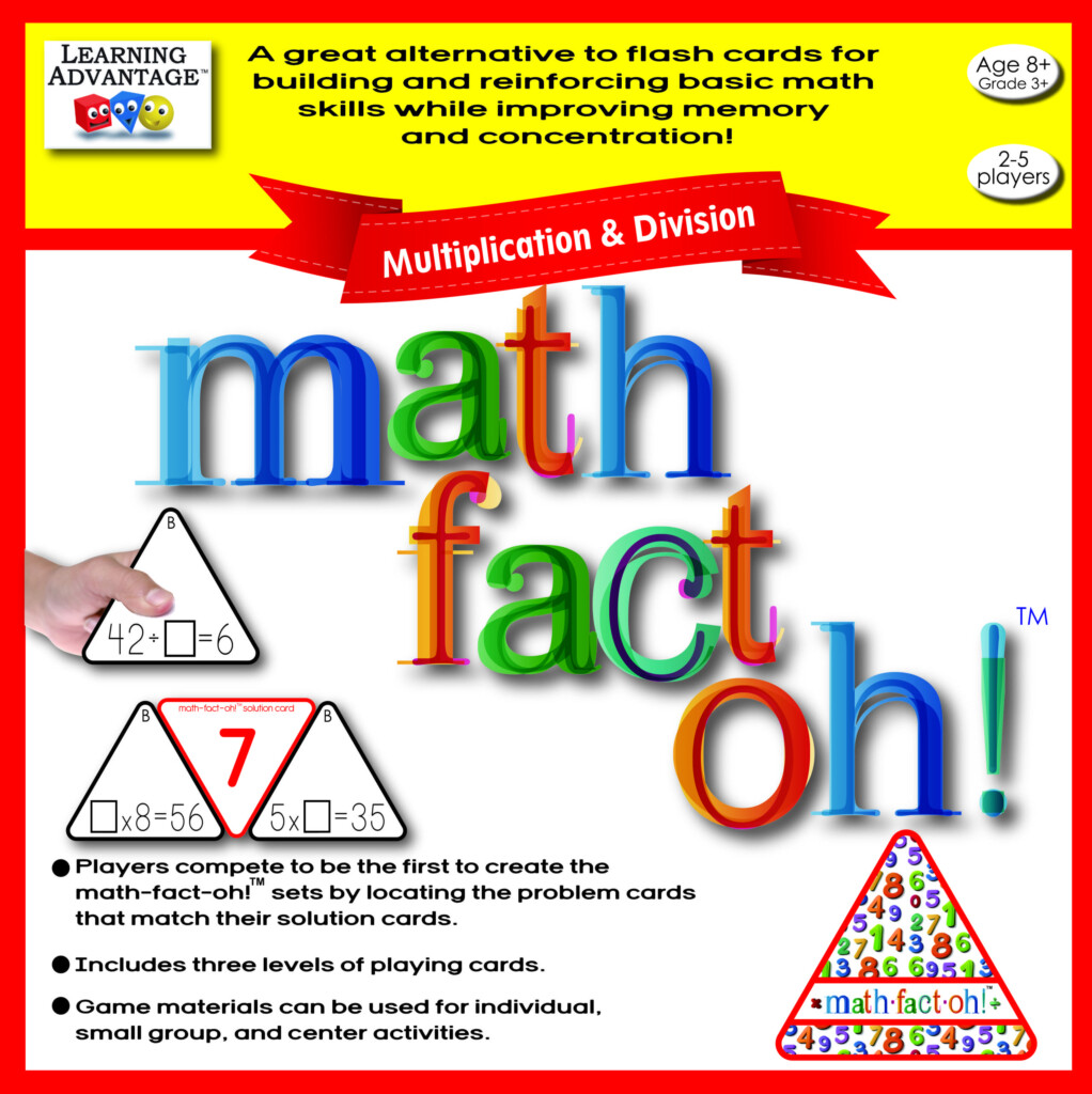 A Great Alternative To Flash Cards, Math Fact Oh!™ Builds