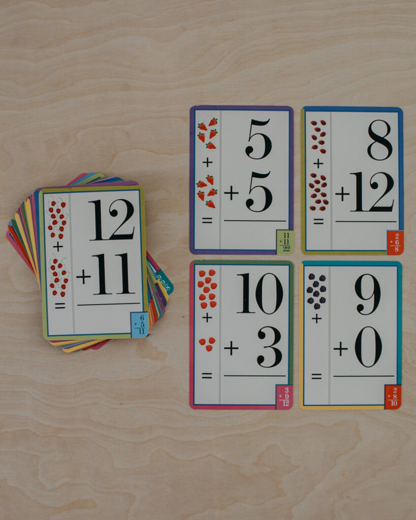 Addition Flash Cards In 2020 | Addition Flashcards