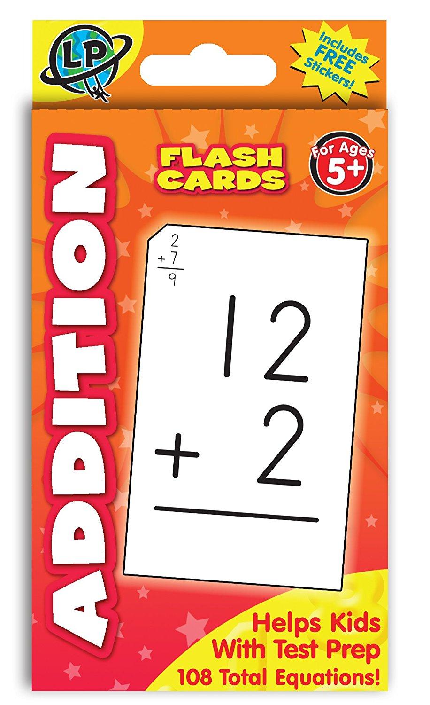 Addition Flashcards, Number Of Cards Variesitemeureka - Walmart