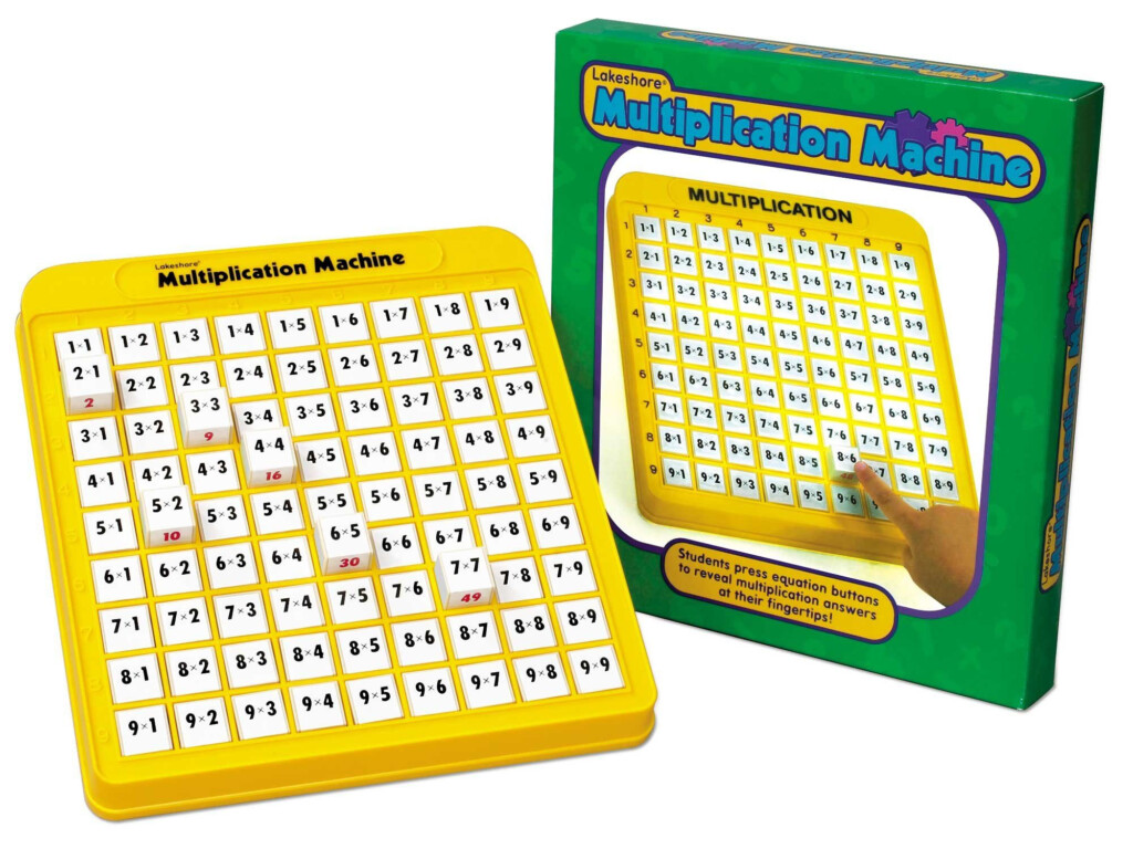 Amazon: Multiplication Practice Math Machine: Toys