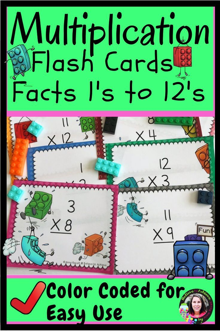 Are You Tired Of Sorting Through Multiplication Flash Cards