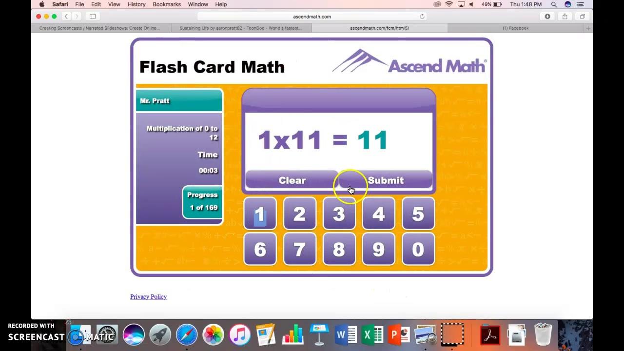 Ascend Math - Demo - Youtube