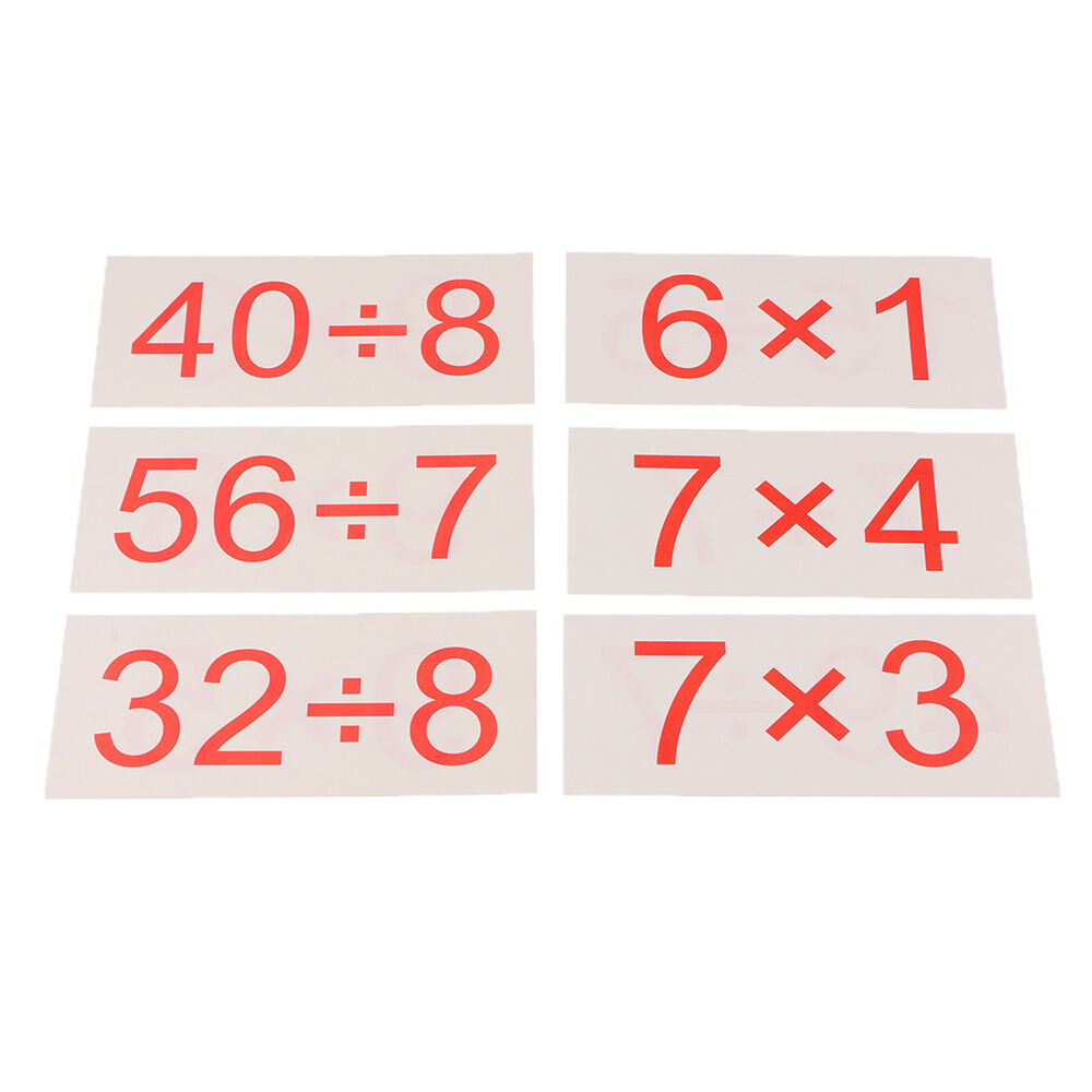 Basic Math Skills Bundle Multiplication Flash Cards And
