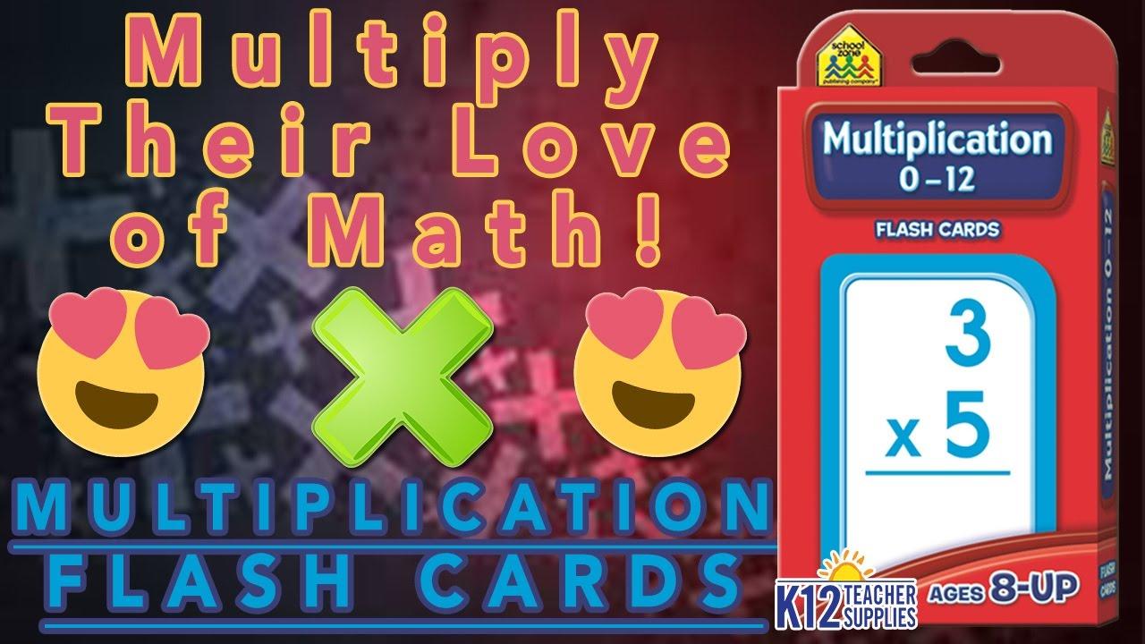 Best Multiplication Games - Multiplication Flashcards - Flashcards For Kids