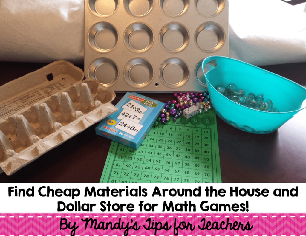 Bright Idea: Simple (And Cheap) Math Games For Math Workshop