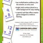 Brighter Child Multiplication 0 To 12 Flash Cards