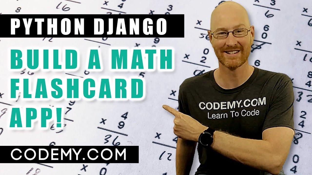 Build A Math Flashcard App With Django And Python