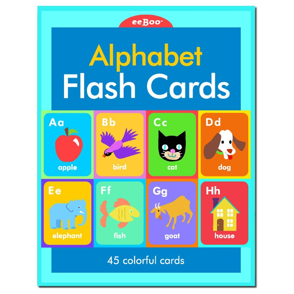 Buy Eeboo Alphabet Phonics Flash Cards In Cheap Price On