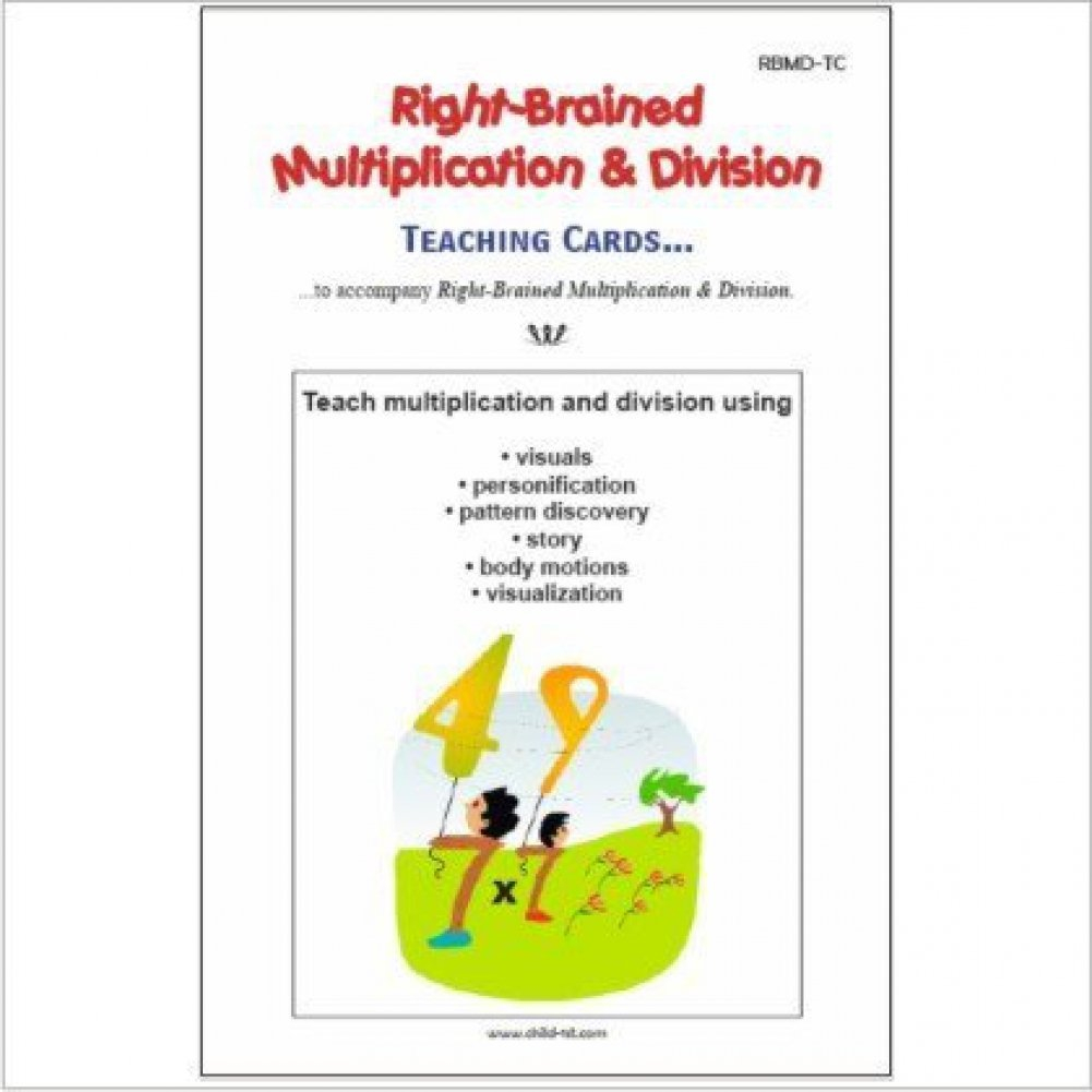 Buy Right-Brained Multiplication & Division Teaching Cards