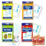 Buy School Zone Flash Cards Math Set Kids    4 Packs