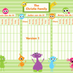Chore Charts For Multiple Children Best Of Customizable