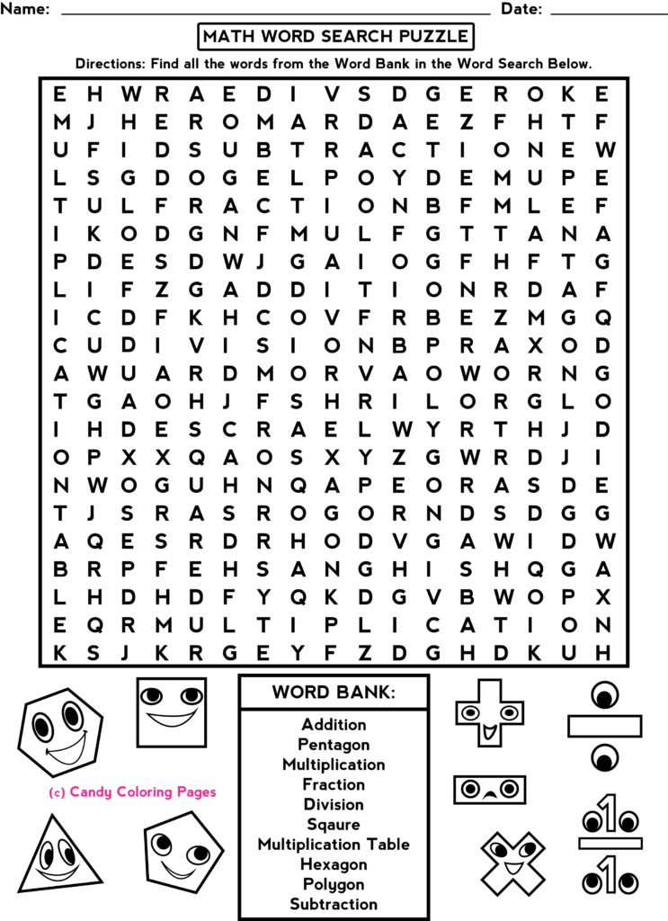 Coloring Pages Worksheets Free Fun Math Printable Game Pdf For Multiplication Worksheets Middle School
