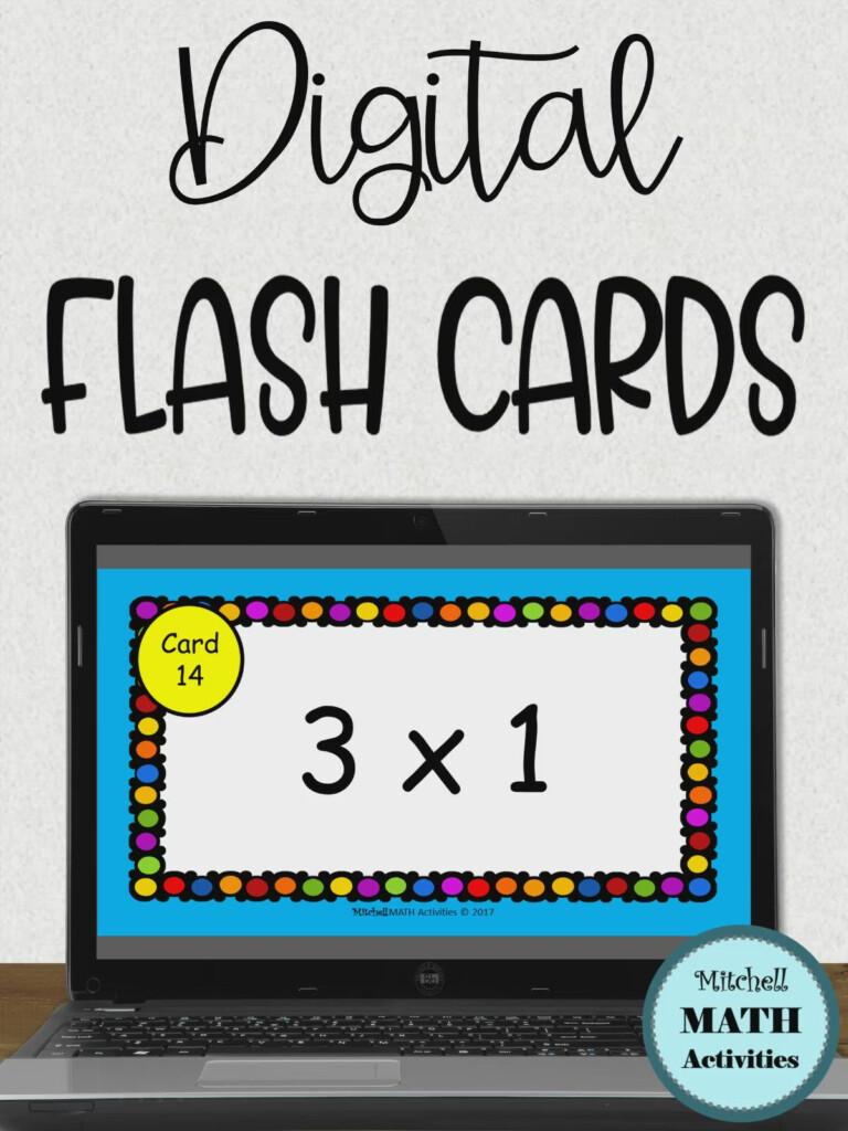 Digital Multiplication Flash Cards [Video] In 2020   Multiplication  Flashcards, Flashcards, Distance Learning