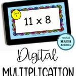 Digital Multiply11 Flash Cards In 2020 | Flashcards