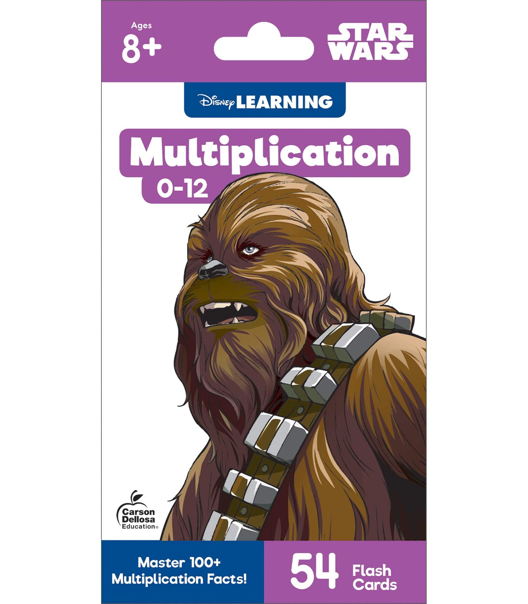 Disney Learning – Multiplication 0–12 Flash Cards, Star Wars