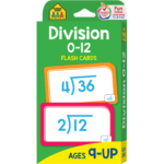 Division 0 12 Flash Cards
