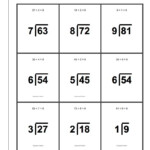 Division Printable Flash Cards Oh, You've Mastered Your