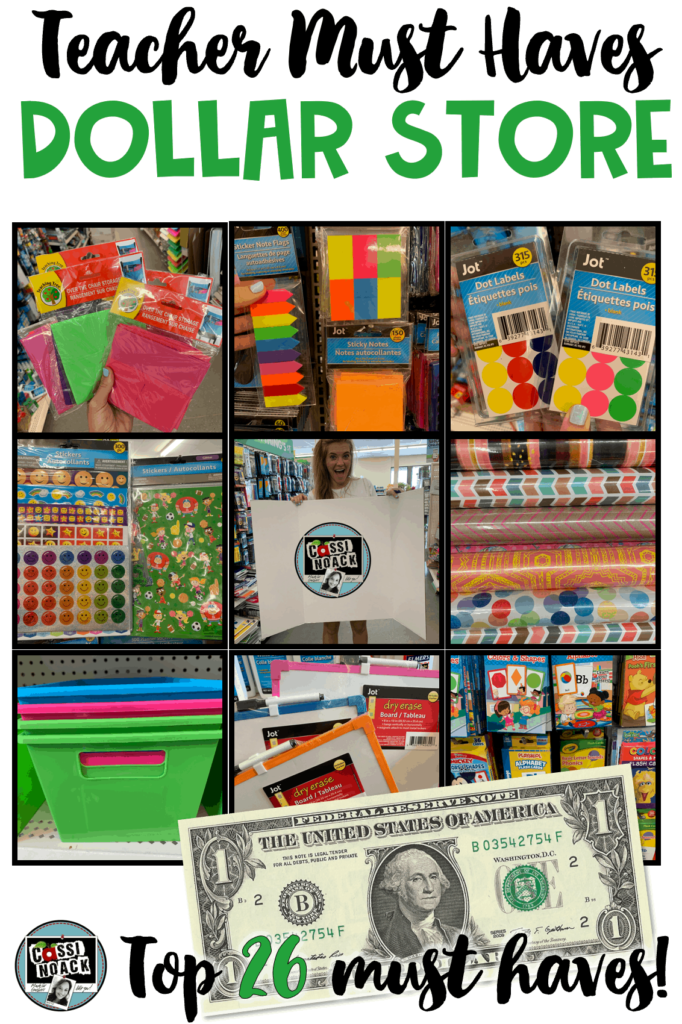 Dollar Store Must Haves For Teachers • Cassi Noack