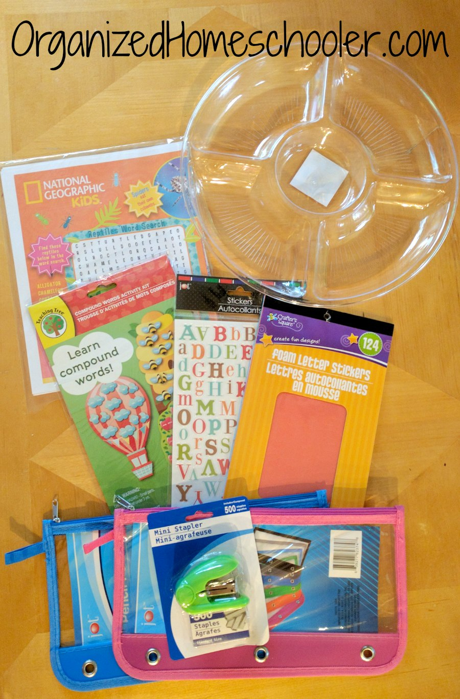 Dollar Tree Homeschool Deals ~ The Organized Homeschooler
