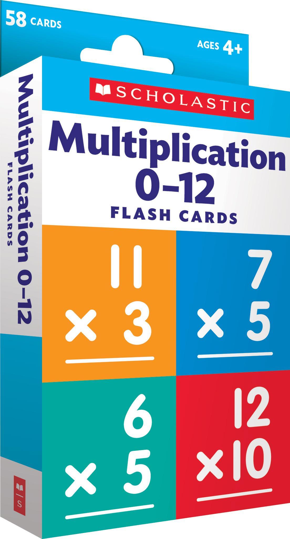 Flash Cards: Flash Cards: Multiplication 0 - 12 (Other) - Walmart