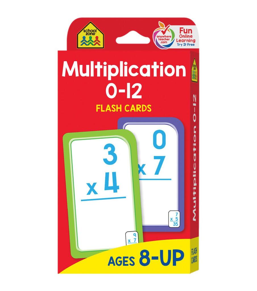 Flash Cards Multiplication 0 12 55 Pkg   Joann In 2020