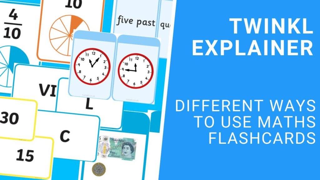 Flashcards For Multiples Of Four (Teacher Made)