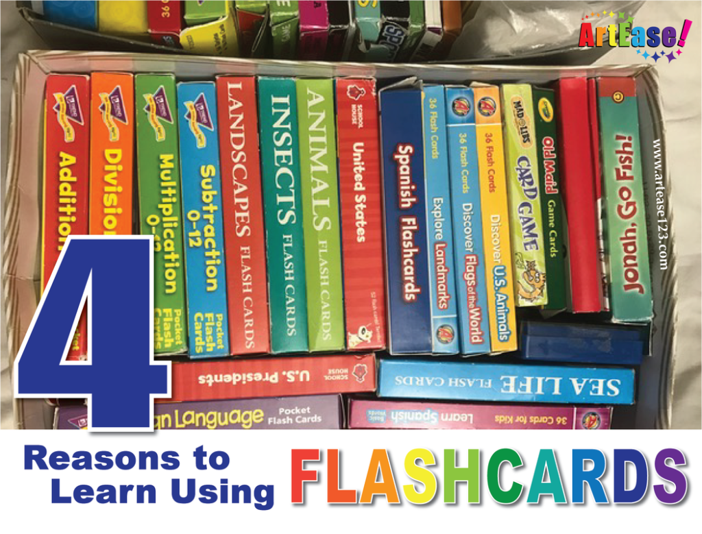Four (4) Reasons To Enjoy Learning With Flash Cards