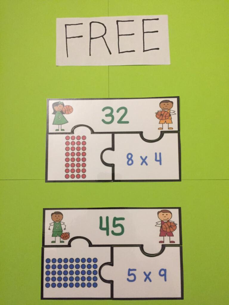 Free Array Multiplication Strategy 3Rd Grade Activity