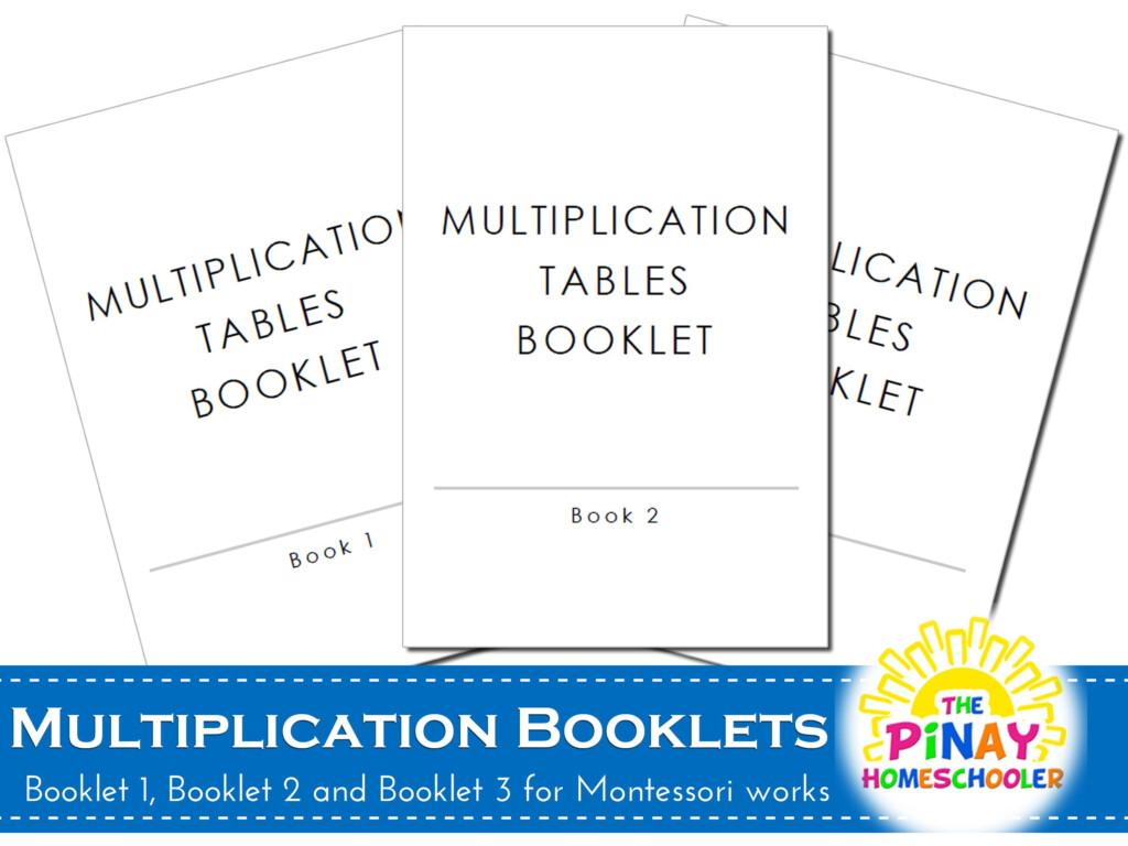 Free Multiplication Booklets | Montessori Math Activities