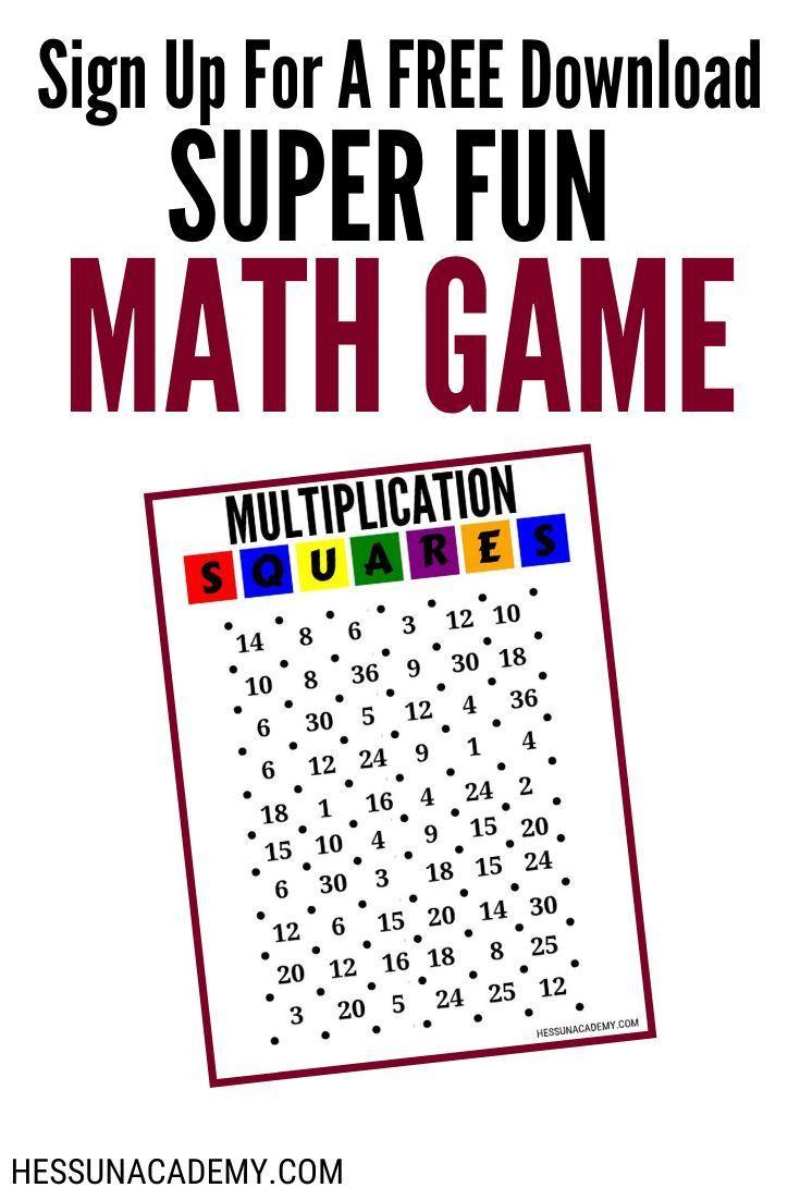 Fun + Free Printable Multiplication Worksheets In 2020