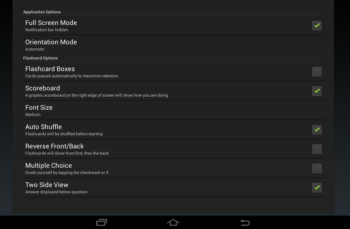 Gflash+ Flashcards & Tests For Android - Apk Download