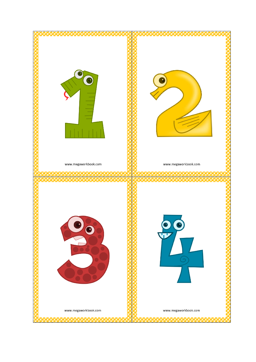 Greek Alphabet Quizlet Printable Numbers 1-10 Flashcards