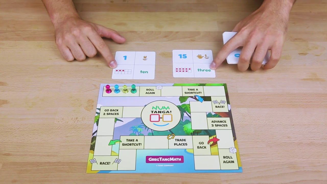 Greg Tang Jr Does A Demo Of Numtanga! | Math Games For Kids