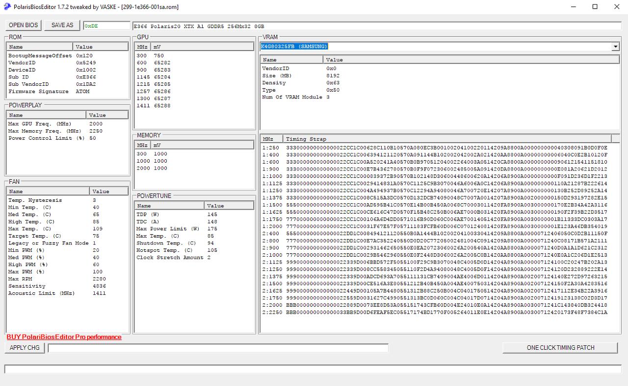 Guide] How Do I? : Modify A Polaris (Radeon Rx Series) Gpu.