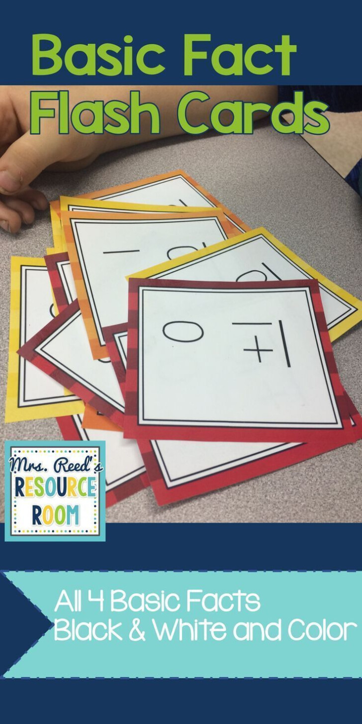 Multiplication Flash Cards All Facts